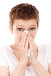 schnupfen bei pollenallergie