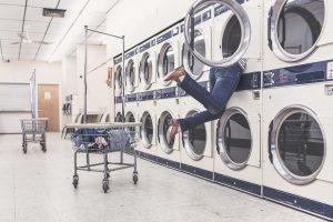 Waschsalon Matratze waschen