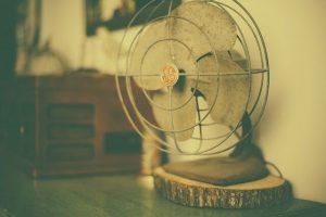Ein älterer Ventilator