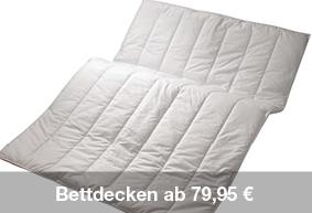 Bettdecken günstig kaufen